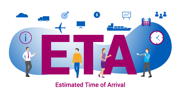 """Estimated Time of Arrival (ETA1) - Ab heute """"Just in Real-Time!"""""""